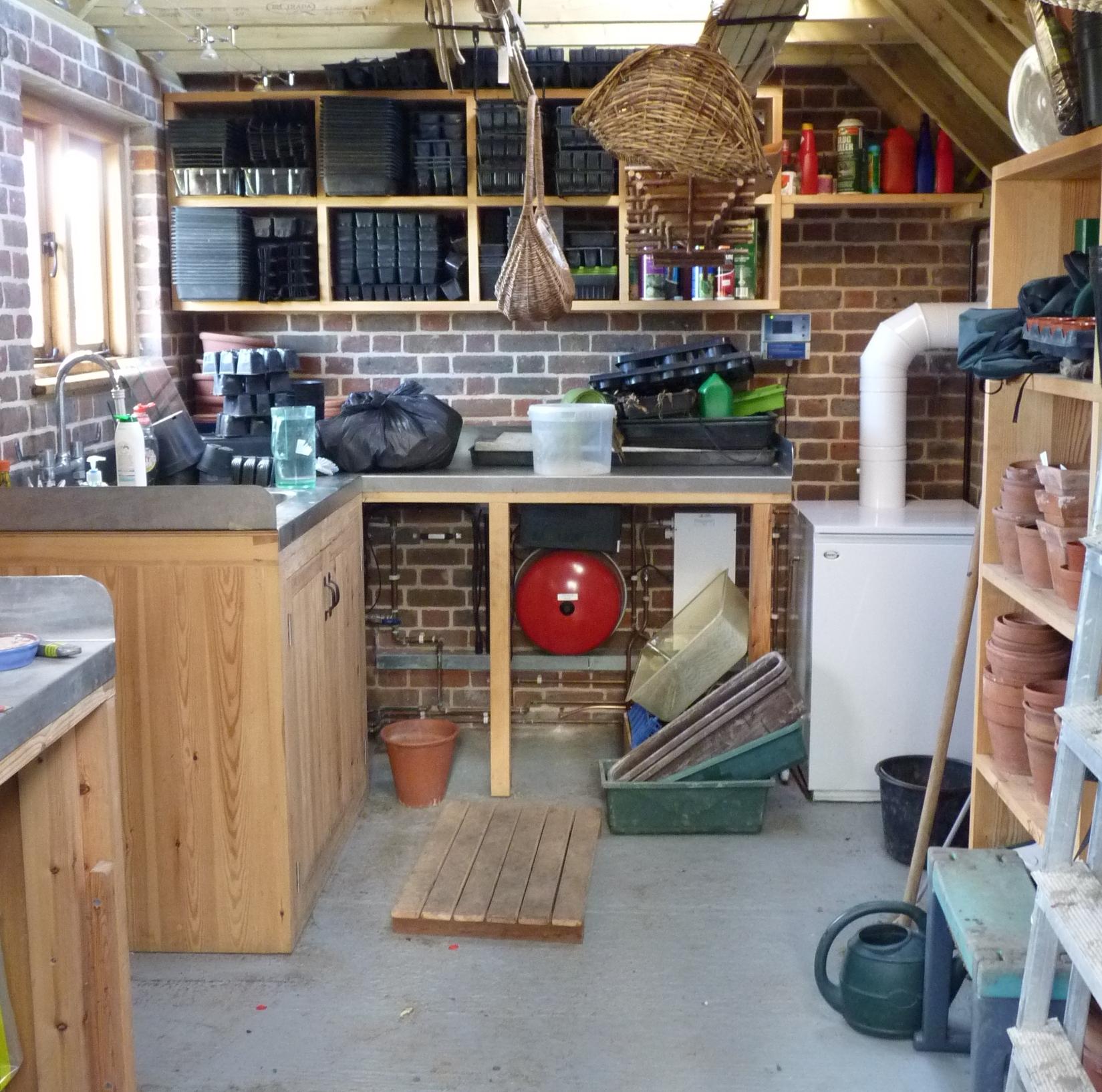 wooden bespoke oakford devon thinking sheds potting ahead sizes the workshop shed garden