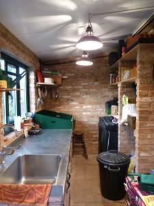 Potting shed internal
