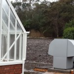 Air Source Heat Pumps being installed in Scotland.