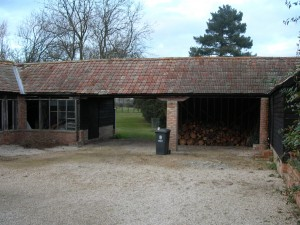 Outbuildings prior to conversion