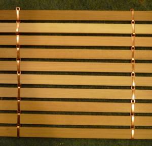 Sample of cedar shade