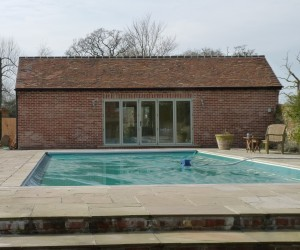 Pool house refurbished