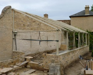 Greenhouse Restoration project - External View 2
